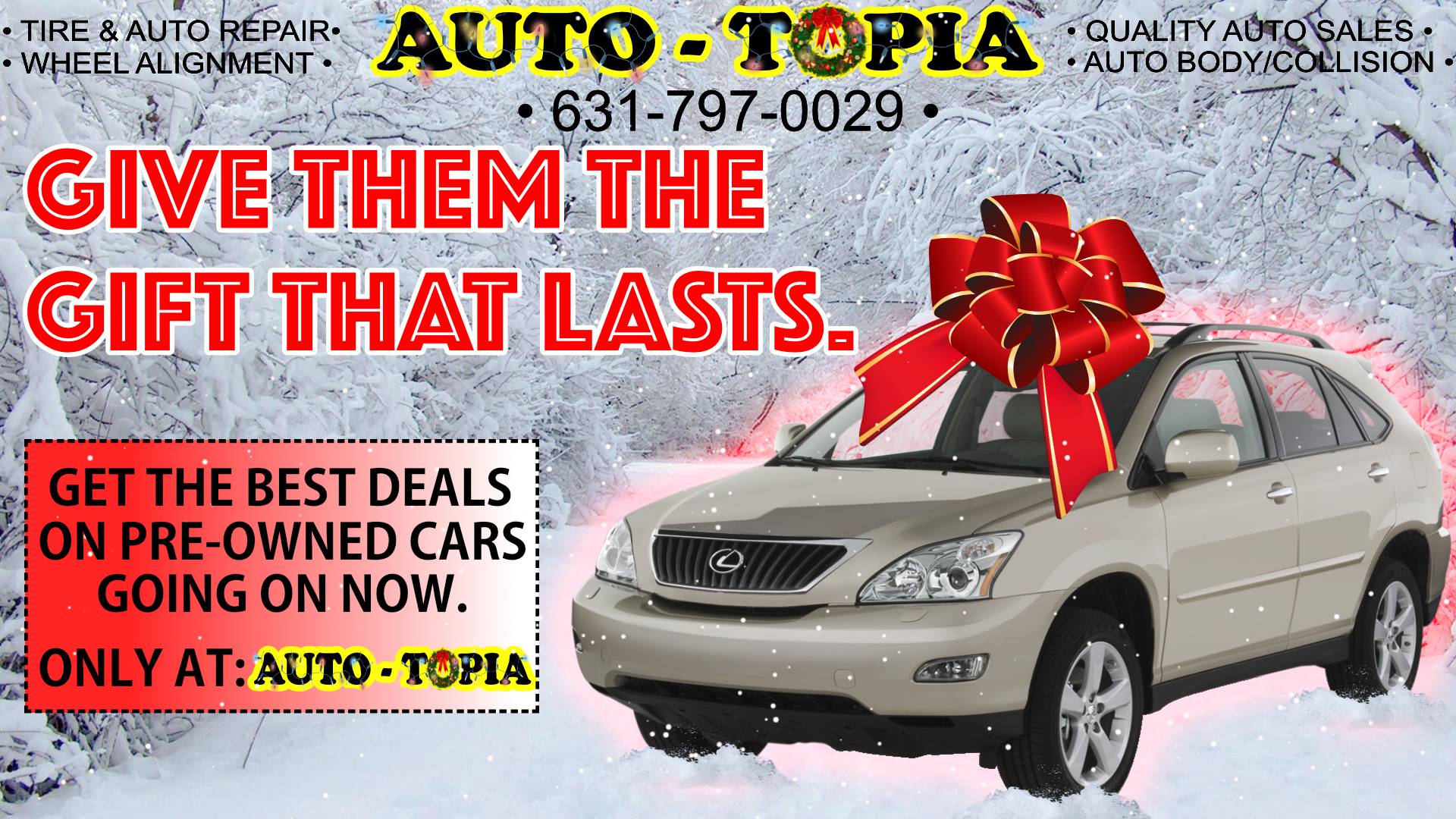 Auto-Topia Christmas Ad