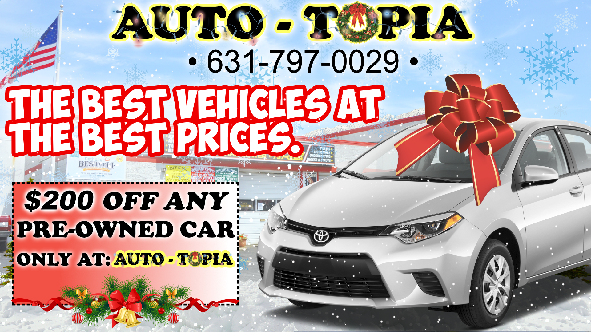 Auto-Topia Used Car AD